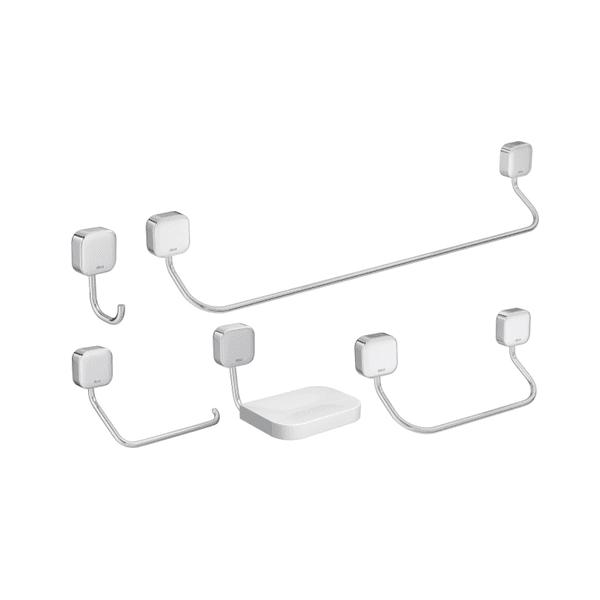 Kit Deca Acessórios Pix 5 Peças para banheiro Pix - 2000.C02