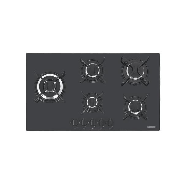 Cooktop a Gás Tramontina Penta Side Plus com Acendimento superautomático 5 Queimadores