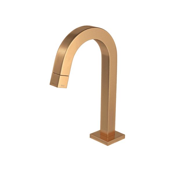 Torneira de mesa bica baixa para lavatório Deca Tube 1197.GL.TUB.MT