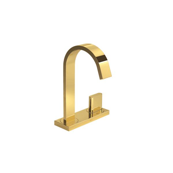 Torneira de bancada lavatório Deca Polo Gold