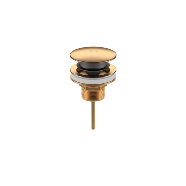 Válvula de escoamento click Gold Matte
