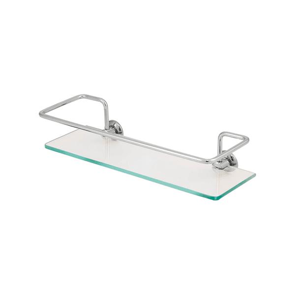 Porta Shampoo prateleira Banheiro vidro Metalplas