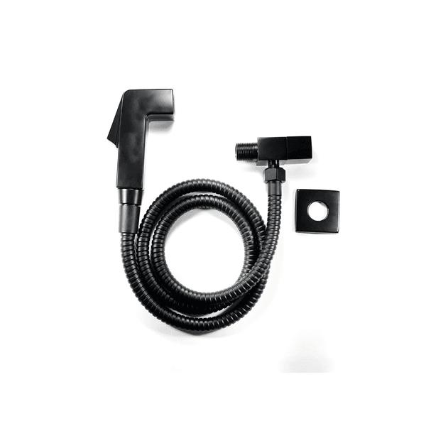 Ducha Higiênica Metalplas C81 Black 1/4 Volta Preto