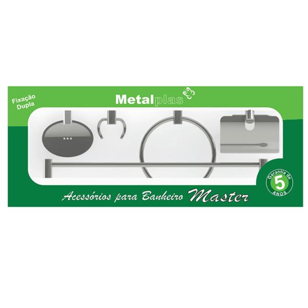 Kit Inox Metalplas Master 5 Peças