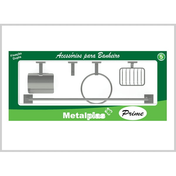 KIT INOX METALPLAS 5PCS PRIME