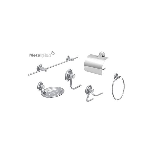 Kit Inox Standard Metalplas 5 Peças