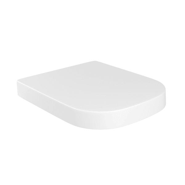 Assento DECA Quadratta/Piano SLOW CLOSE Branco AP.336.17