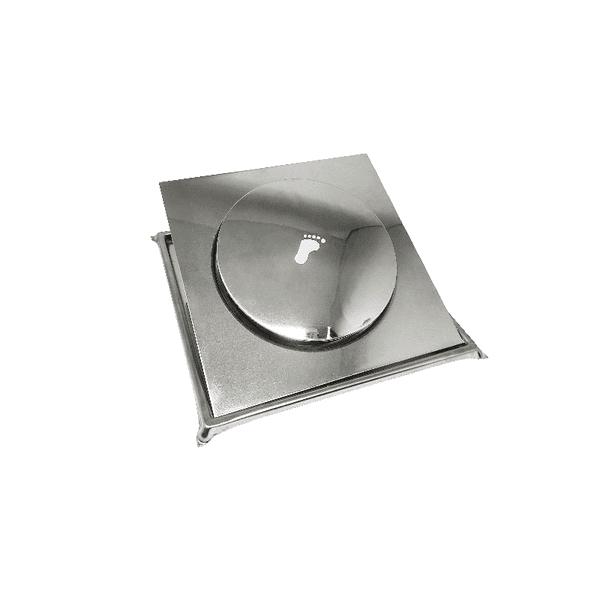 Ralo Click com Porta Grelha 10x10 Metalplas