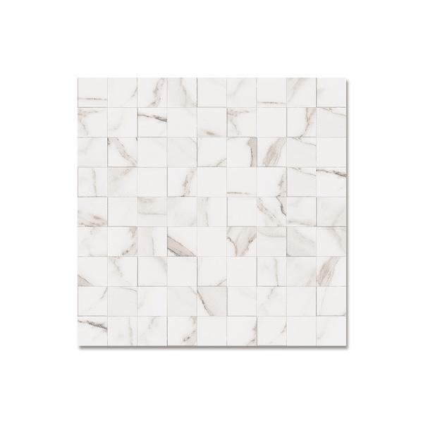 Porcelanato Portinari 58,4X58,4 Simetria Marble WH A M²