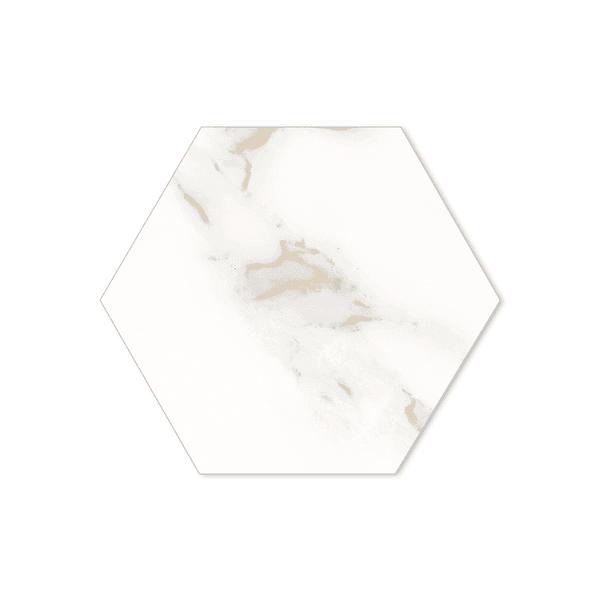 Porcelanato Portinari 17,4X17,4 Opera WH Hexa NAT. A