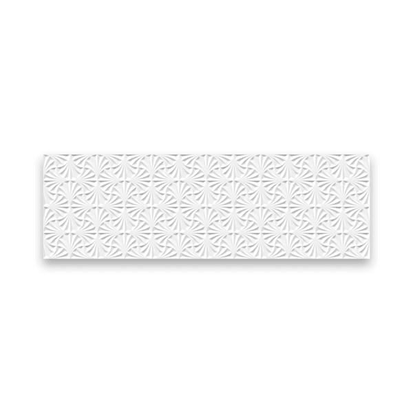 Azulejo Ceusa 32X100 Leque Branco Extra M²