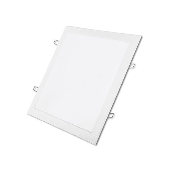 Plafon Led Quadrado 18w Painel Embutir Slim Avant 3000k
