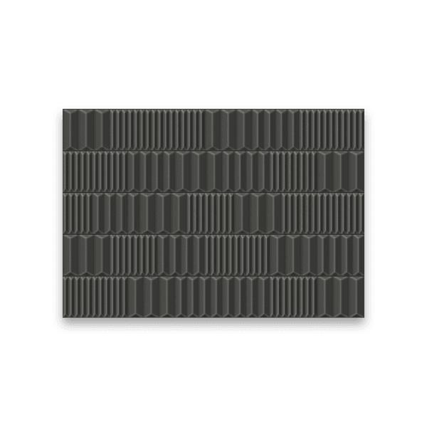 Azulejo Ceusa 43,7X63,1 Canudos Grafite Extra M²