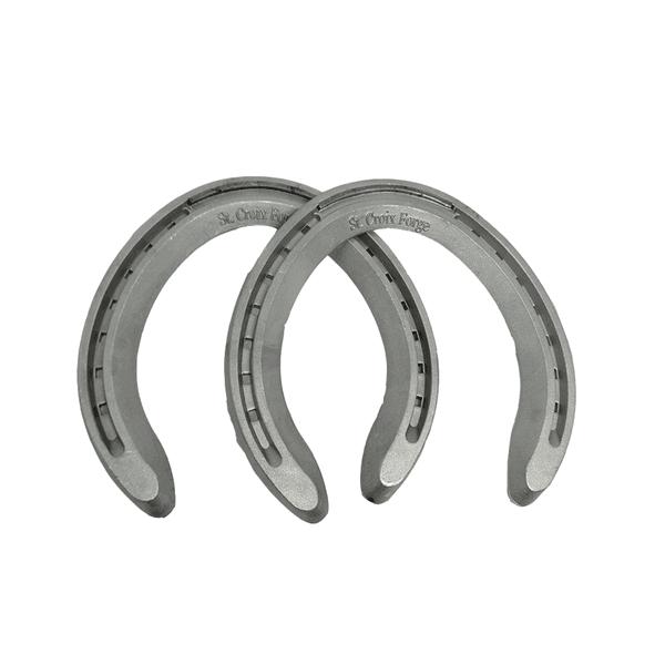 Ferradura Cavalo Aluminio Concord Mão 6F C/2 peças