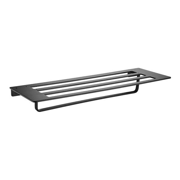 Toalheiro Astra Aluminio Preto Fosco