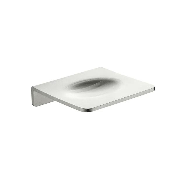 Saboneteira Astra Aluminio Silver Matte