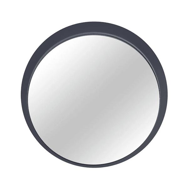 Espelho Astra C/Moldura Concreto Diam. 61cm