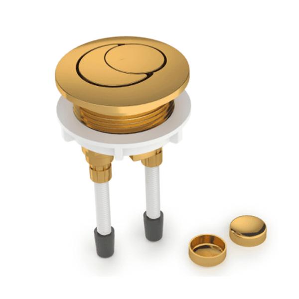 Botão de Acionamento Para Caixa Acoplada Roca Acabamento Gold