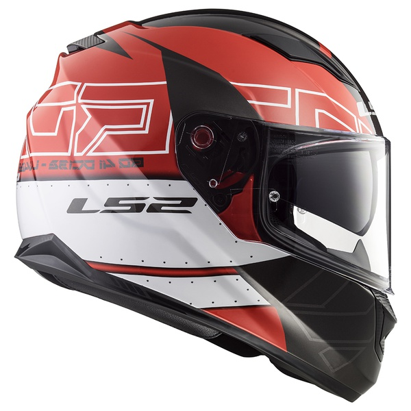 CAPACETE LS2 STREAM KUB BLACK/RED