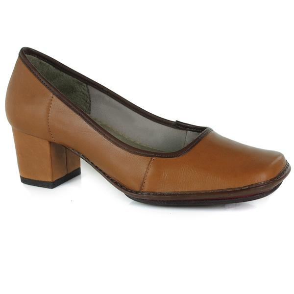 Sapato Em Couro Galeany Médio Tâmara J.Gean