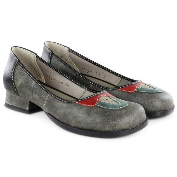 Sapato Em Couro Evelin Baixo Titanium J.Gean Outlet