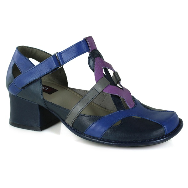 Sapato New Kelly em couro Navy J.Gean OUTLET