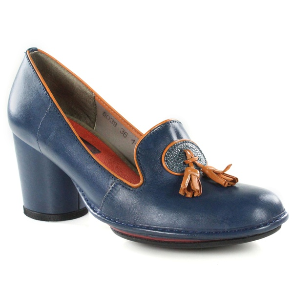 Sapato Em Couro Navy J.Gean Outlet