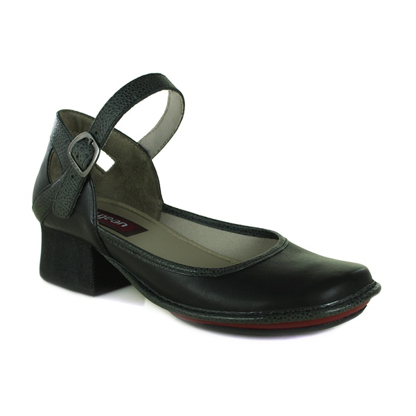 Sapato Em Couro New kelly Preto J.Gean OUTLET
