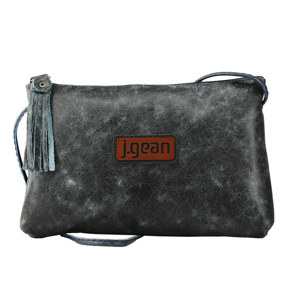 Bolsa de Mão Em Couro Denin J.Gean