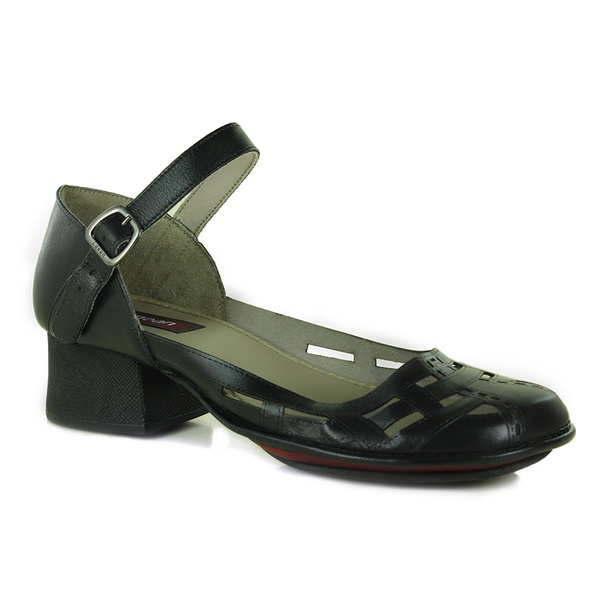 Sapato New Kelly Preto Em Couro J.Gean OUTLET