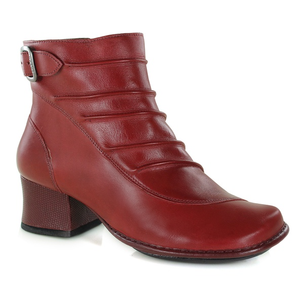 Bota New Kelly Em Couro Rouge J.Gean Outlet