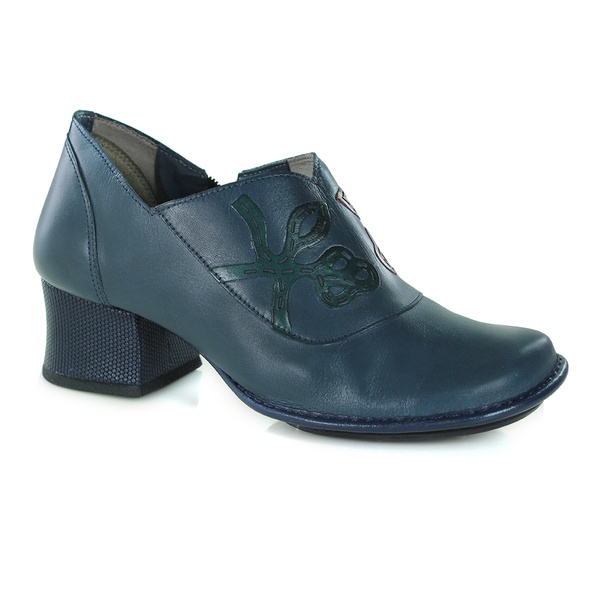 Bota Em Couro New Kelly Navy J.Gean Outlet