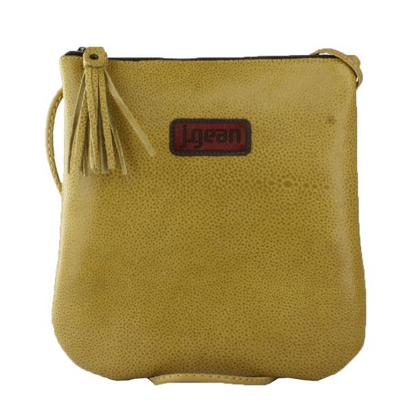 Bolsa de Mão Em Couro Sol J.Gean