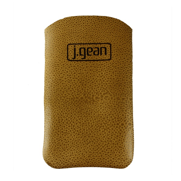 Porta Celular 100% Em Couro Sol J.Gean