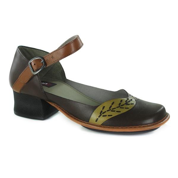 Sapato New Kelly Em Couro Coffe J.Gean