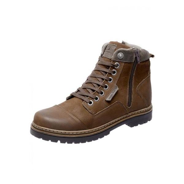 Bota Coturno em Couro Mega Boots