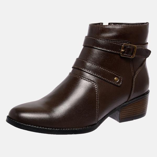 Bota Country Mega Boots em Couro Legitimo - Café - 1340