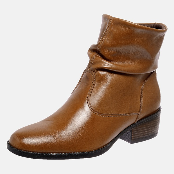 Bota Country Mega Boots em Couro Legitimo - Avelã - 1345