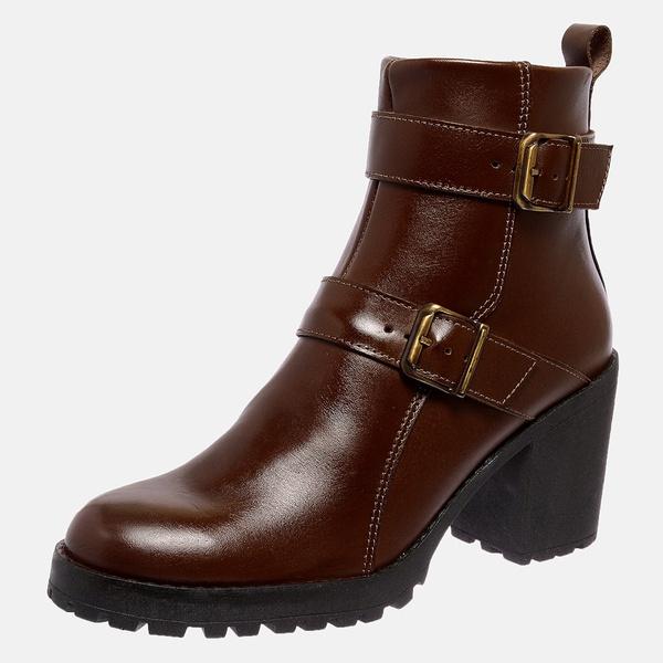 Bota Tratorada Mega Boots em Couro Legitimo - Chocolate - 1425