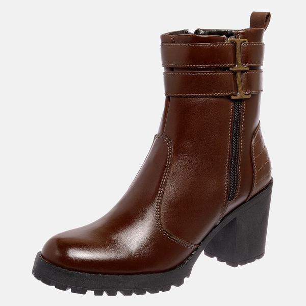 Bota Tratorada Mega Boots em Couro Legitimo - Chocolate - 1426