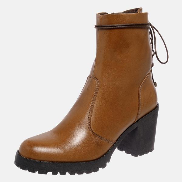 Bota Tratorada Mega Boots em Couro Legitimo - Avelã - 1427