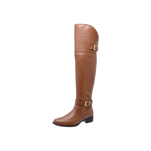BOTA OVER THE KNEE, CARAMELO