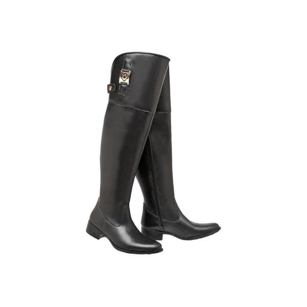 Bota Mega Boots Over The Knee 958 PRETO