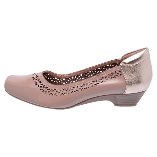 Sapato Comfort Couro Legitimo