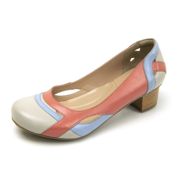 Sapato Boneca Ref 3121 Couro Legítimo