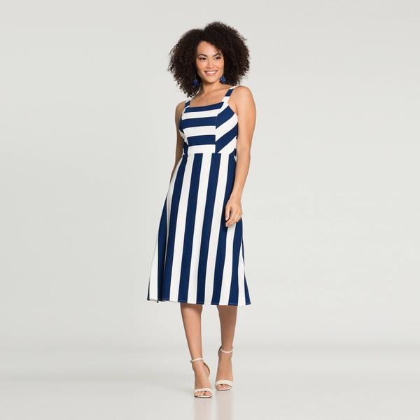 Vestido Crepe Lunender 37997