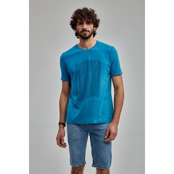 Camiseta Masculina Guilherme Soul Azul 581831
