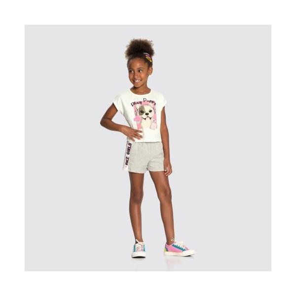 Conjunto Infantil Alakazoo Branco 34978
