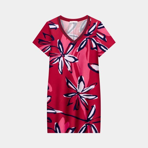 Vestido Lunender Mais Mulher Vermelho 39070