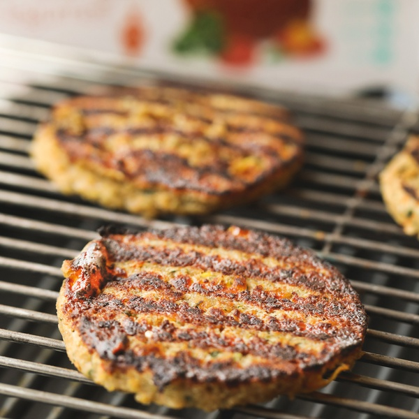 Hambúrguer Vegetariano (6 unidades)